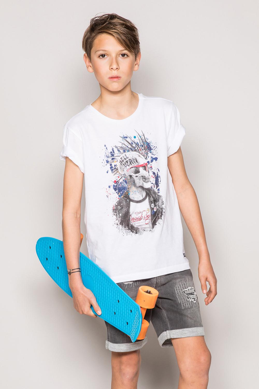 T-Shirt T-Shirt ENFIELDON Garçon S19188B (42705) - DEELUXE