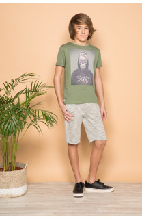 T-Shirt T-Shirt JUST Garçon S19189B (42730) - DEELUXE