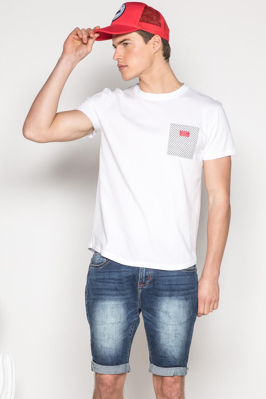 T-Shirt T-SHIRT MESH Homme S19164 (42880) - DEELUXE