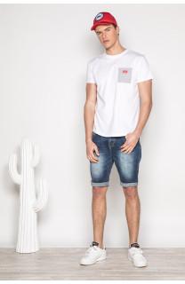 T-Shirt T-SHIRT MESH Homme S19164 (42881) - DEELUXE