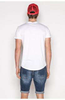 T-Shirt T-SHIRT MESH Homme S19164 (42883) - DEELUXE