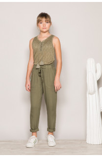 Pantalon ELIDA Fille S19725G (42915) - DEELUXE