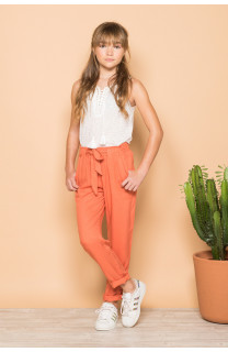 Pantalon ELIDA Fille S19725G (42919) - DEELUXE