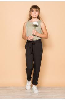 Pantalon ELIDA Fille S19725G (42924) - DEELUXE