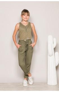 Pantalon ELIDA Fille S19725G (42929) - DEELUXE