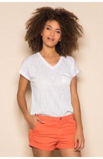 T-Shirt T-Shirt SANTI Femme S19113W (42947) - DEELUXE