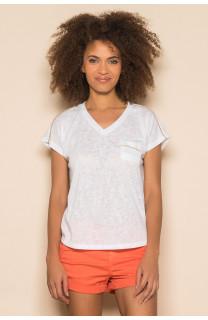 T-Shirt T-Shirt SANTI Femme S19113W (42949) - DEELUXE