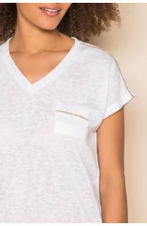 T-Shirt T-Shirt SANTI Femme S19113W (42951) - DEELUXE