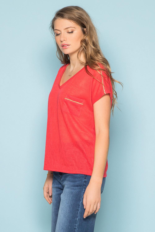 T-Shirt T-Shirt SANTI Femme S19113W (42952) - DEELUXE