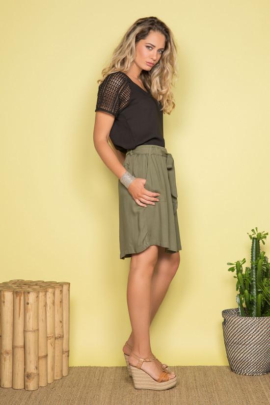 Blouse NAEL Femme S19426W (43010) - DEELUXE