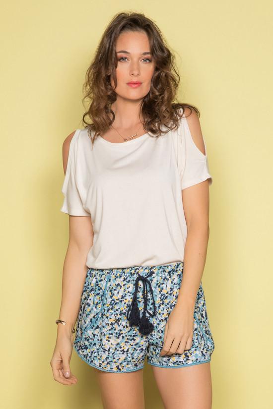 Short Short LOCACITA Femme S19702W (43028) - DEELUXE