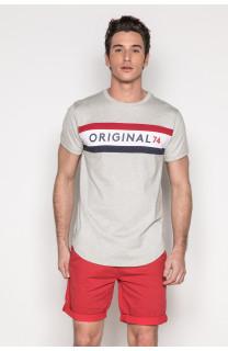 T-Shirt T-SHIRT TEAM Homme S19107 (43103) - DEELUXE