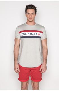 T-Shirt T-SHIRT TEAM Homme S19107 (43105) - DEELUXE