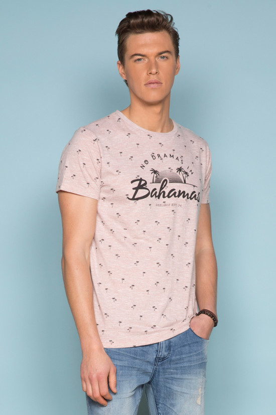 T-shirt PALMITO Homme Deeluxe