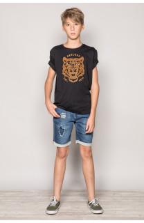 T-Shirt T-Shirt TIGERO Garçon S19152B (43307) - DEELUXE
