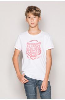 T-Shirt T-Shirt TIGERO Garçon S19152B (43311) - DEELUXE