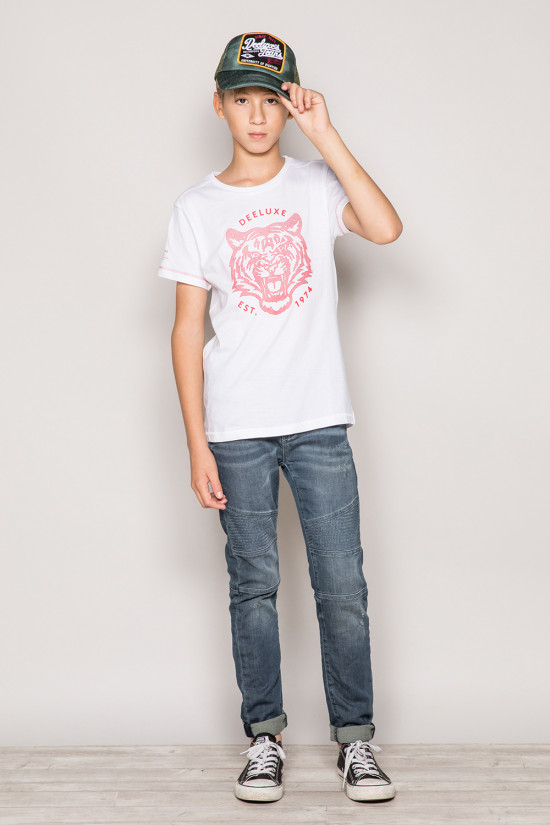 T-Shirt T-Shirt TIGERO Garçon S19152B (43316) - DEELUXE