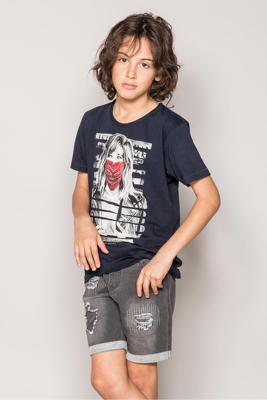 T-Shirt BONNIE Garçon S19182B (43321) - DEELUXE