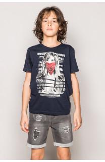 T-Shirt BONNIE Garçon S19182B (43323) - DEELUXE