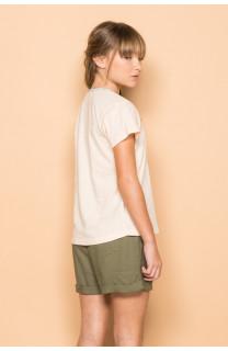 T-Shirt T-Shirt DEMETER Fille S19111G (43411) - DEELUXE