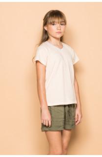 T-Shirt T-Shirt DEMETER Fille S19111G (43418) - DEELUXE