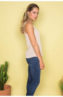 Débardeur T-SHIRT SHINY Femme S19174W (43460) - DEELUXE