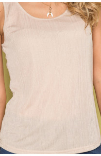 Débardeur T-SHIRT SHINY Femme S19174W (43463) - DEELUXE
