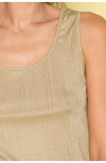 Débardeur T-SHIRT SHINY Femme S19174W (43468) - DEELUXE