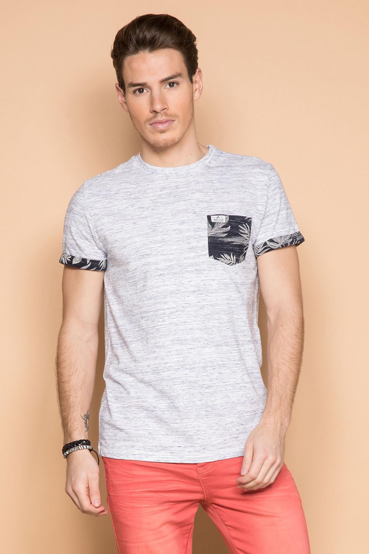 T-Shirt T-SHIRT SHAMAR Homme S19195 (43595) - DEELUXE