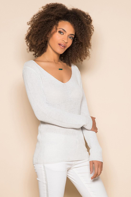 Pull Pull ANDREA Femme S19303W (43704) - DEELUXE