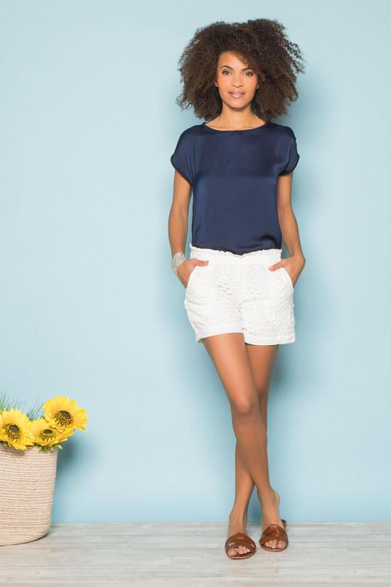 T-Shirt LEONI Femme S19103W (43878) - DEELUXE