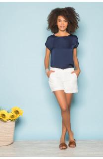 T-Shirt LEONI Femme S19103W (43879) - DEELUXE
