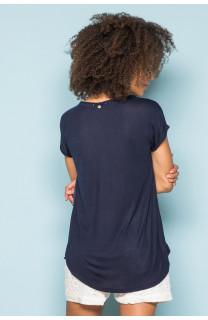 T-Shirt T-Shirt LEONI Femme S19103W (43881) - DEELUXE