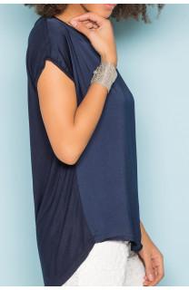 T-Shirt T-Shirt LEONI Femme S19103W (43882) - DEELUXE