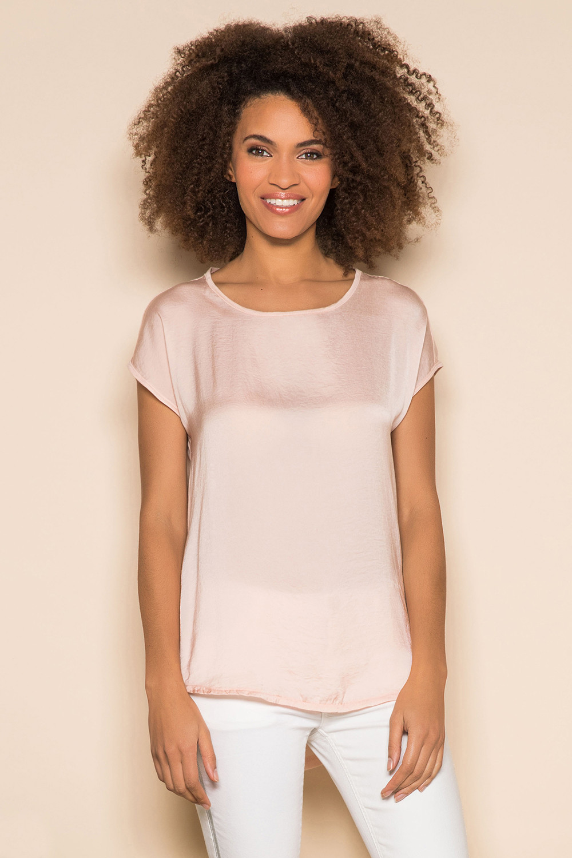 T-Shirt T-Shirt LEONI Femme S19103W (43883) - DEELUXE