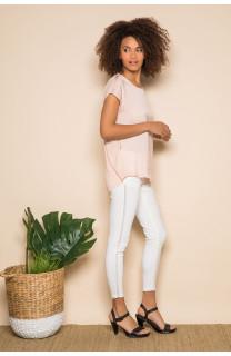 T-Shirt LEONI Femme S19103W (43884) - DEELUXE