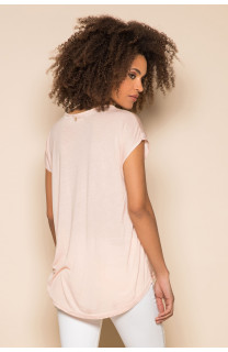 T-Shirt T-Shirt LEONI Femme S19103W (43886) - DEELUXE