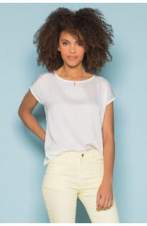T-Shirt T-Shirt LEONI Femme S19103W (43887) - DEELUXE