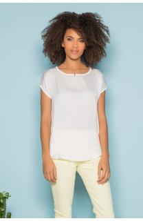 T-Shirt T-Shirt LEONI Femme S19103W (43889) - DEELUXE
