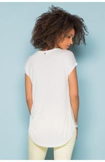 T-Shirt T-Shirt LEONI Femme S19103W (43890) - DEELUXE