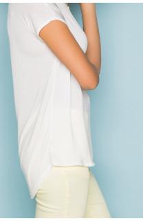 T-Shirt T-Shirt LEONI Femme S19103W (43891) - DEELUXE