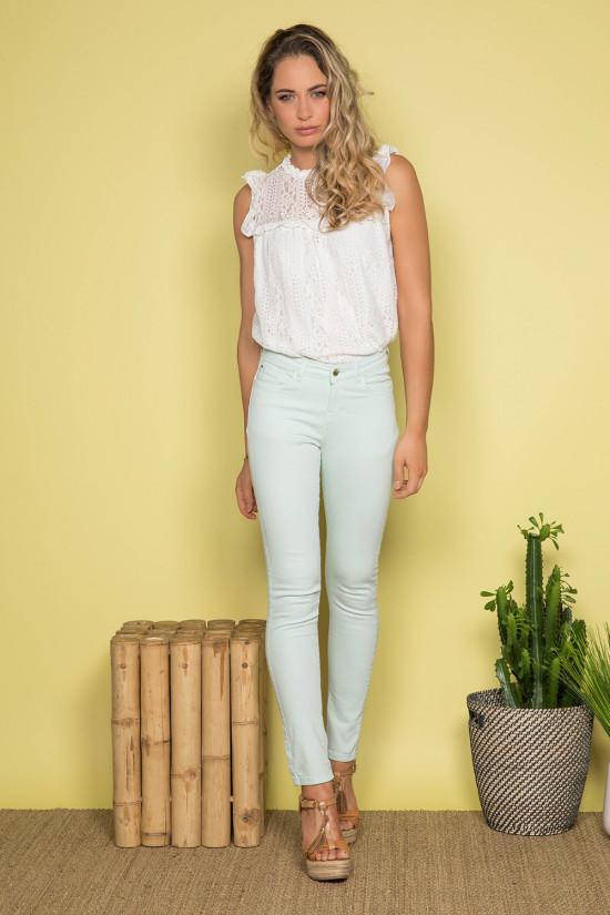 Pantalon PANTALON PIME Femme S19721W (43961) - DEELUXE