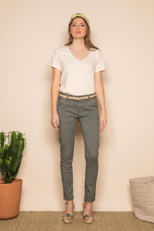 Pantalon Pantalon SHINO Femme S19722W (44013) - DEELUXE