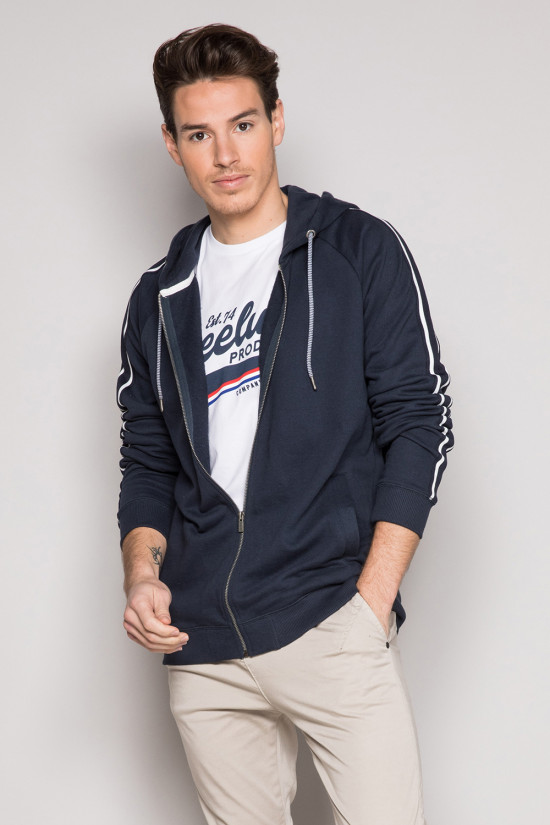Sweat BASKET Homme S19513 (44129) - DEELUXE