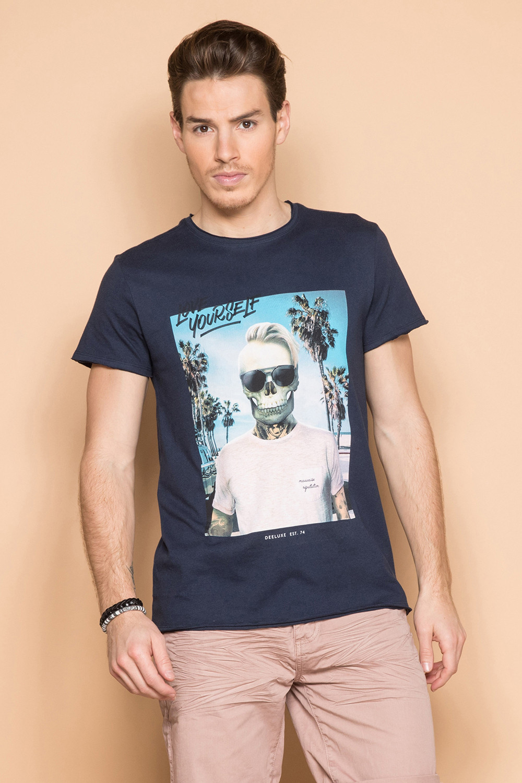 T-Shirt T-SHIRT BIEMER Homme S191101 (44159) - DEELUXE