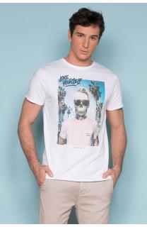 T-Shirt T-SHIRT BIEMER Homme S191101 (44164) - DEELUXE