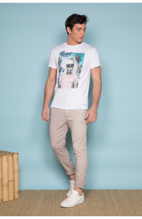 T-Shirt T-SHIRT BIEMER Homme S191101 (44165) - DEELUXE
