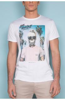 T-Shirt T-SHIRT BIEMER Homme S191101 (44168) - DEELUXE