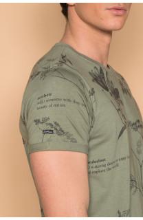 T-shirt BOTANICAL Homme Deeluxe