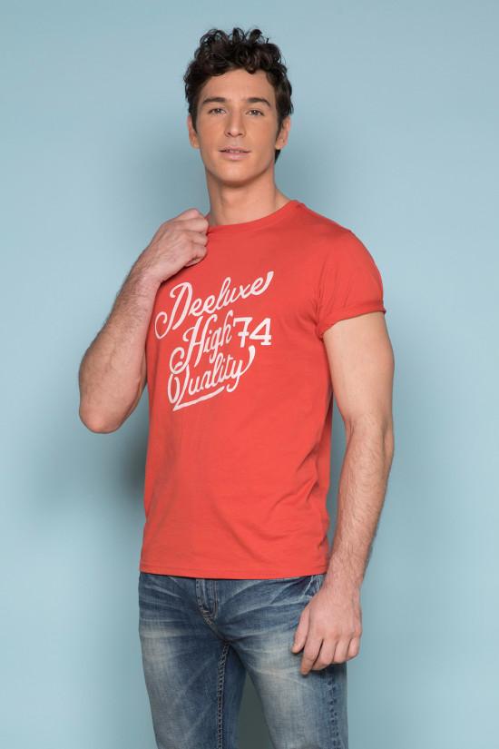 T-Shirt T-SHIRT KELVIN Homme S19173 (44404) - DEELUXE